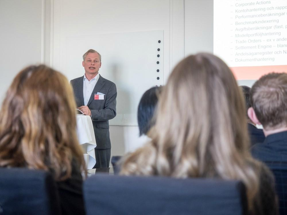 Richard Nordin from FA Solutions in Stockholm on June 11th, 2015. © Anni Salo